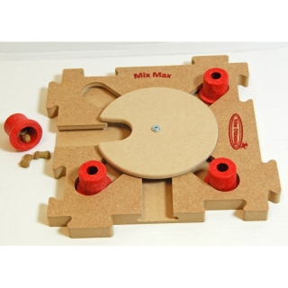 MixMax Puzzle C, Red, Holz