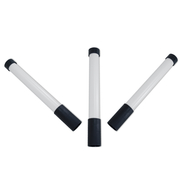 Markierstab (Einweisestab) weiß/schwarz im Set 3Stk.