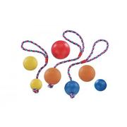 Vollgummi Ball mit Seil 7 cm