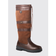 GALWAY LEDER  STIEFEL REGULAR FIT Walnut 41