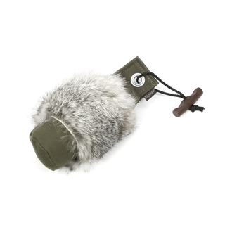Mystique® Dummy Rabbit fur 250g khaki mit Fellring