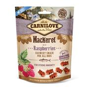 Crunchy Makrele mit Himbeeren