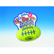 Kong Air Dog Sqeaker Football Medium  13 cm