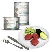 MjAMjAM - vorzügliches Kalb an gedämpfter Zucchini